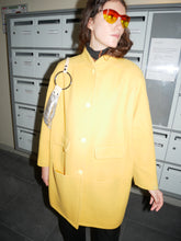 Load image into Gallery viewer, Courrèges Yellow Coat