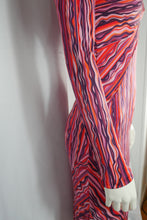 Load image into Gallery viewer, 70s silk dress
