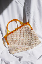 Load image into Gallery viewer, 70s raffia handbag