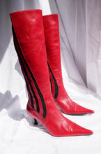 Load image into Gallery viewer, Sporty red boots