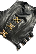 Load image into Gallery viewer, Leather vest