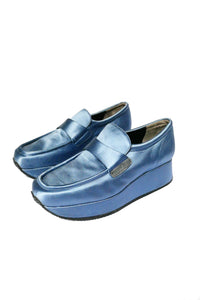 Satin loafers
