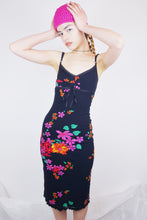 Load image into Gallery viewer, Vintage floral tank dress