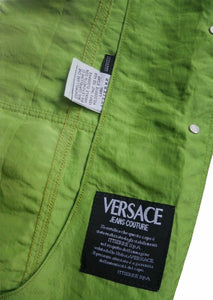 Versace lime jacket