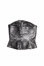 Load image into Gallery viewer, Mugler leather bustier