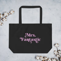 Mrs. Fantastic - Tote Bag - by EMPOWERHAUS: a feminist apparel brand created by breast cancer survivor and Wisconsin artist, Emily Hopper.