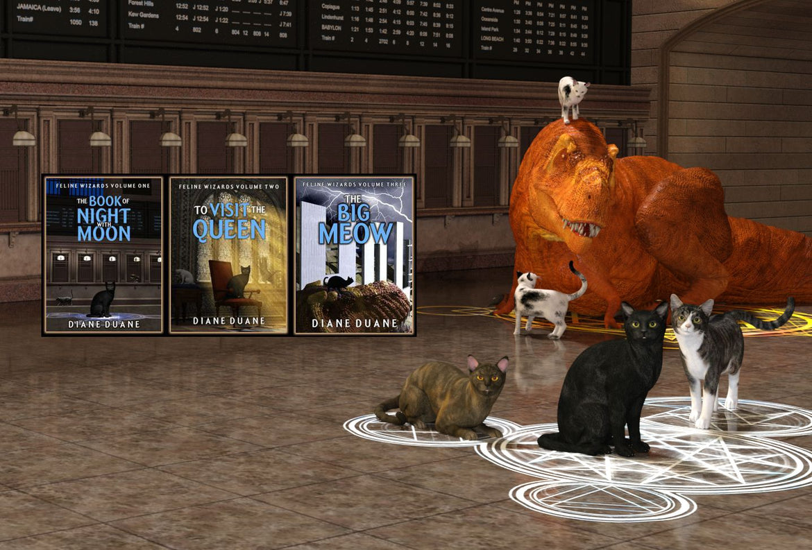 The full Feline Wizards series now at Ebooks Direct