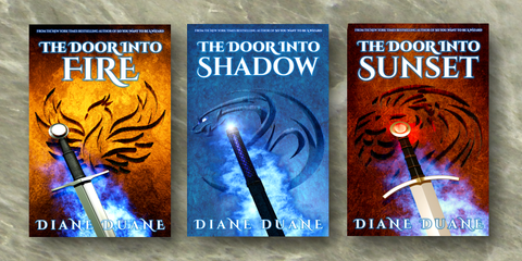"Newly re-covered: The three Middle Kingdoms ""Tale of the Five"" novels"