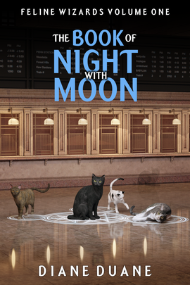 The Book of Night with Moon (Feline Wizards Volume 1)
