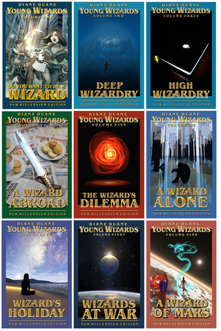 9-Volume Young Wizards New Millennium Editions box set