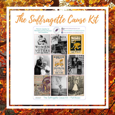 The Suffragette Cause Weekly Kit