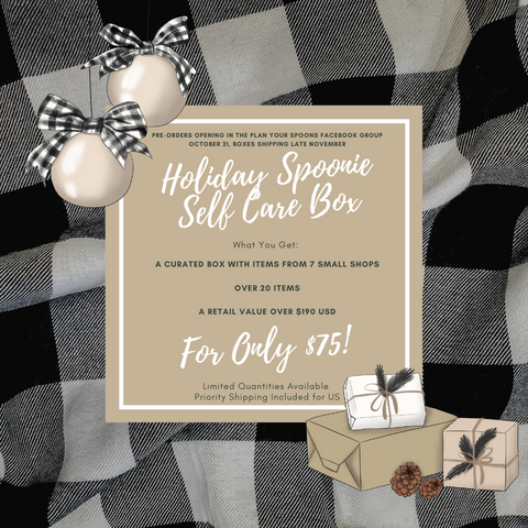 *PRE-ORDER* Holiday Spoonie Self Care Box