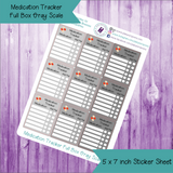 Meal Tracker Full Box Tracker