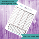 Medication Tracker Sidebar Large