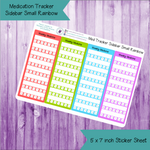 Medication Tracker Sidebar Small