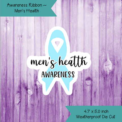 Awareness Ribbon ~ Men's Health
