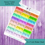 Nausea Tracker Quarter Box