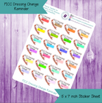 PICC Dressing Change Die Cut
