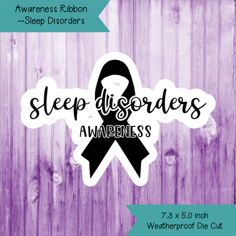 Awareness Ribbon ~ Sleep Disorders