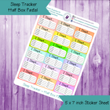 Sleep Tracker Half Box