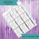 Spoonie Planner ~ Health Tracker Large Sized