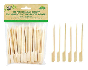 Bamboo Catering Paddle Skewers 12cm