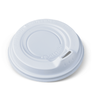 12oz Detpak Spout Lids-White