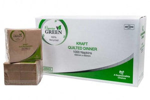 Quilted  Napkins GT KRAFT 2ply