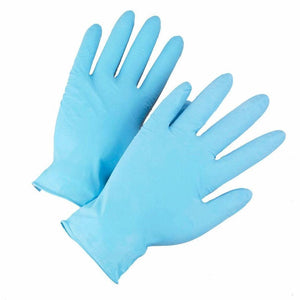 Nitrile Gloves Blue Large