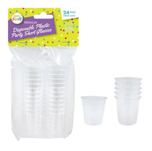 Clear Disposable Shot Glasses-1oz/30ml