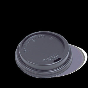 Lid 80Mm Smooth Black Fit 320M