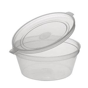 Sauce Container With Hinged Lid-35ml
