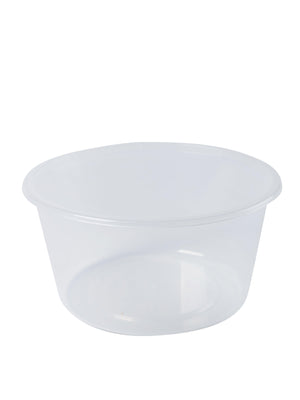 Round Plastic Containers-440ml-50 Pieces