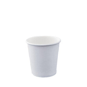 Single Wall Coffee Cups White 4oz