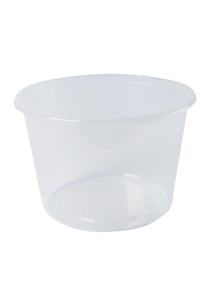 600ml Round Plastic Containers