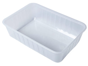 750ml Rectangle Rib Containers