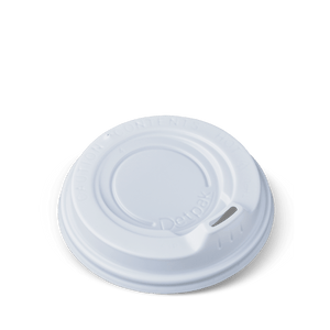 "8oz Detpak Spout Lids ""WHITE"""