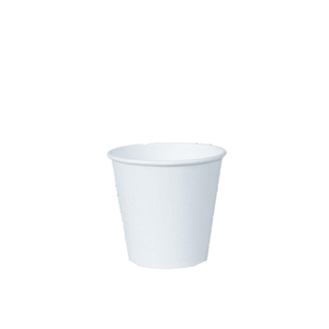 Squat White Coffee Cup-White-8oz/237ml