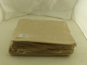 3 Long Paper Bags-Brown