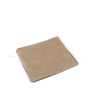 2 Square  Paper Bags-Brown