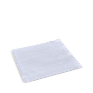 2 Square White Paper Bag