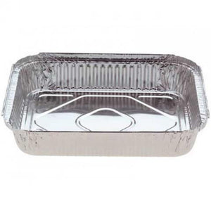 Large Foil Rectangle Container