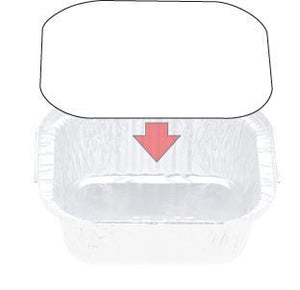 Lids To Fit Foil Container 7114