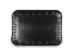 "Black Foam Trays 7""x 5"" Shallo"