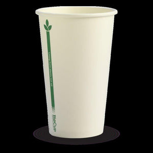 12oz (80mm) White  BioCup