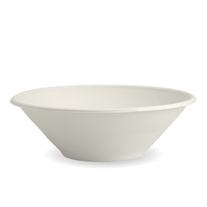Natural 32 oz. Sugarcane Bowl