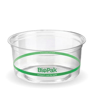 Round Container-BioPak-Clear-240ml