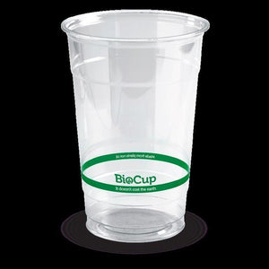600ml BioPak Clear Cups