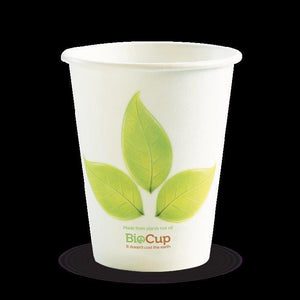 8oz BioCup Single wall Coffee