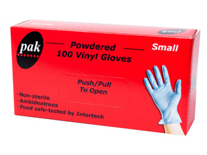 "Gloves VinyL SMALL ""Powdered"""